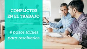 resolver conflictos en el trabajo